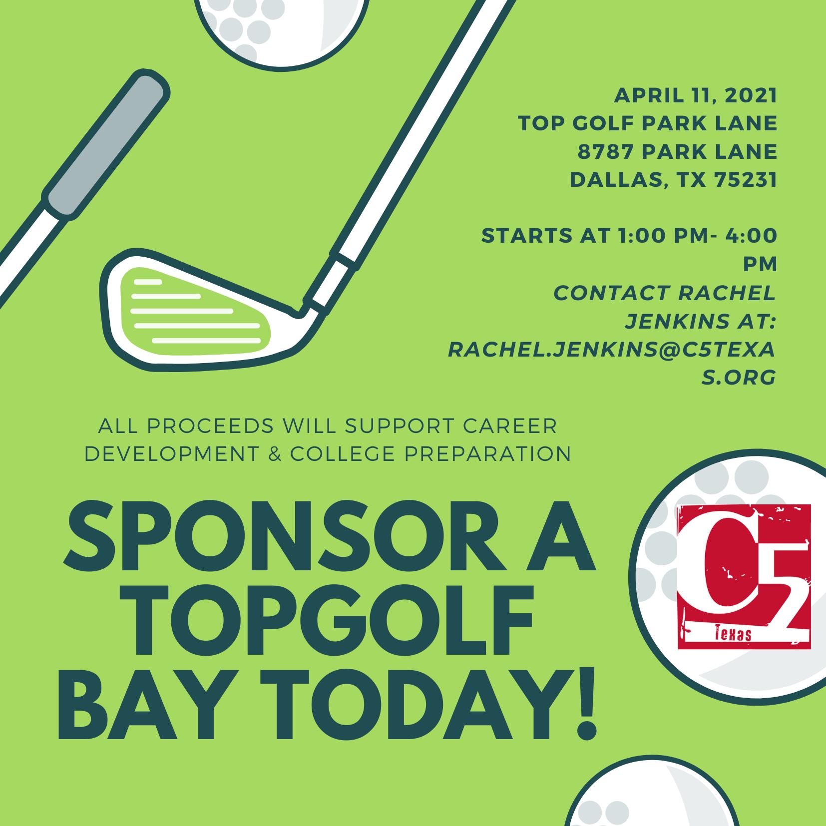 April 11, 2021 Top Golf Event