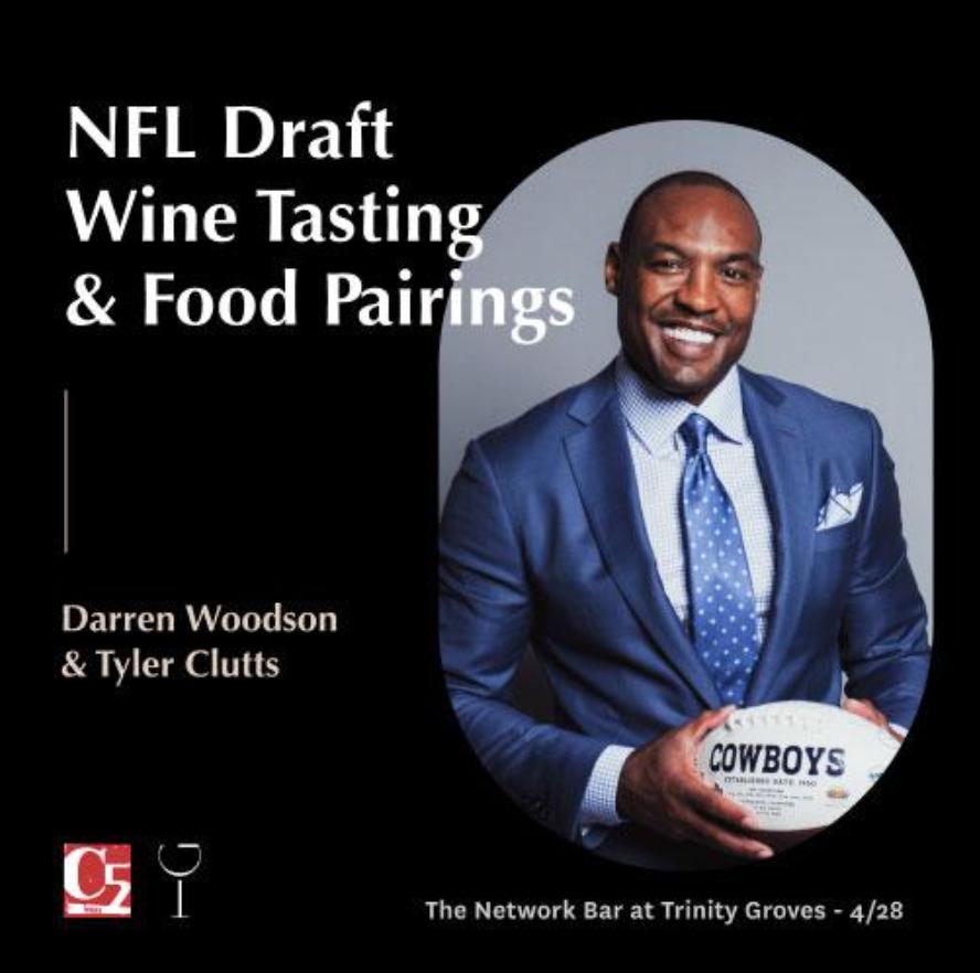In Good Taste Wine Tasting with Darren Woodson April 28, 2021