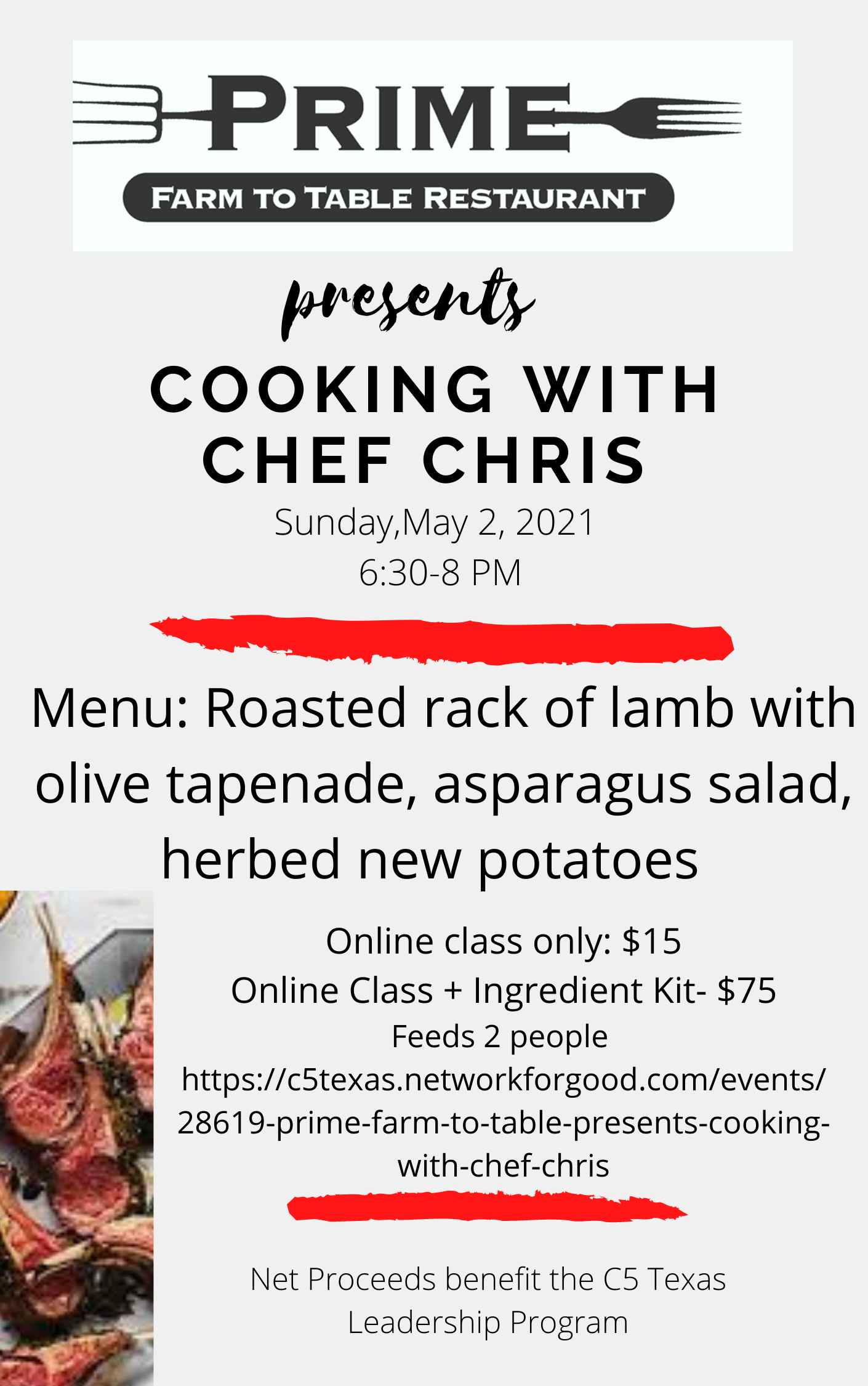 Cooking with Chris May 2, 2021